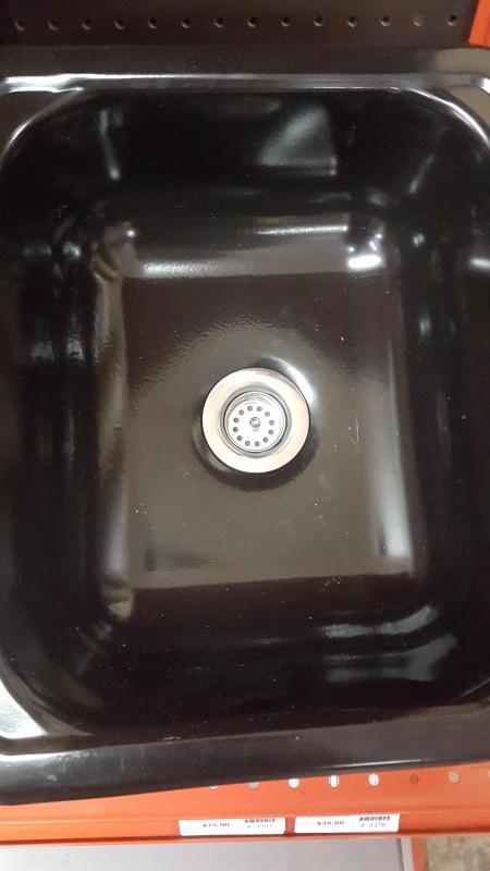 Black Metal Sink