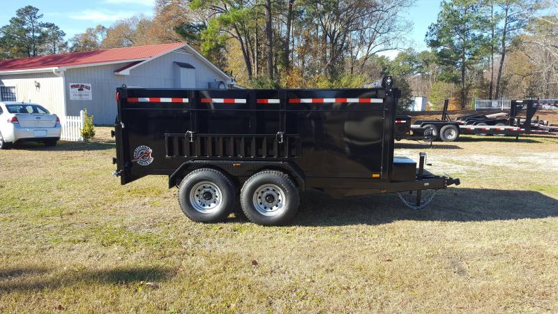 2017 Homesteader 7x12HX Dump Trailer with High sides and Tarp