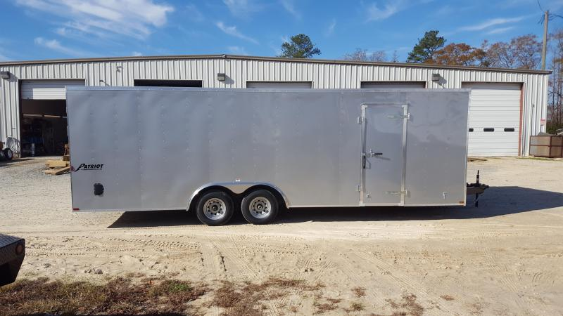 2018 Homesteader Patriot 8.5x24 Cargo Trailer