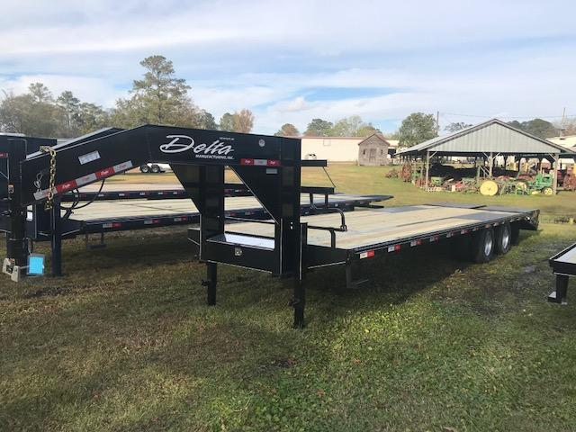 2019 Delta 30ft Equipment Trailer