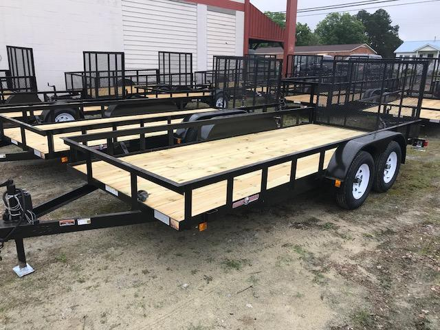 2019 Currahee LD616 Utility Trailer