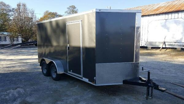 2019 Diamond Cargo 7X14 Enclosed Cargo Trailer