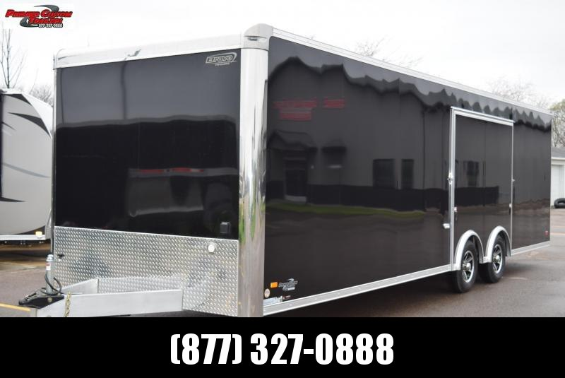 2020 BRAVO SILVER STAR 28' ALUMINUM ENCLOSED RACE HAULER