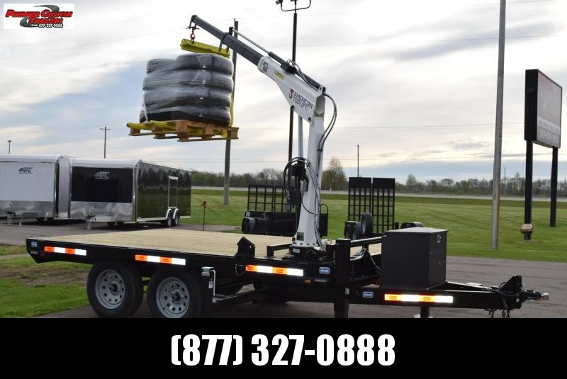 2019 NATION 12' ATL100 EQUIPMENT CRANE TRAILER