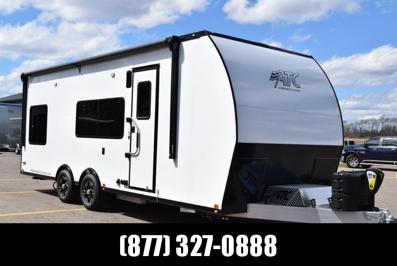 2019 ATC ALL ALUMINUM 8.5x24 TOY HAULER