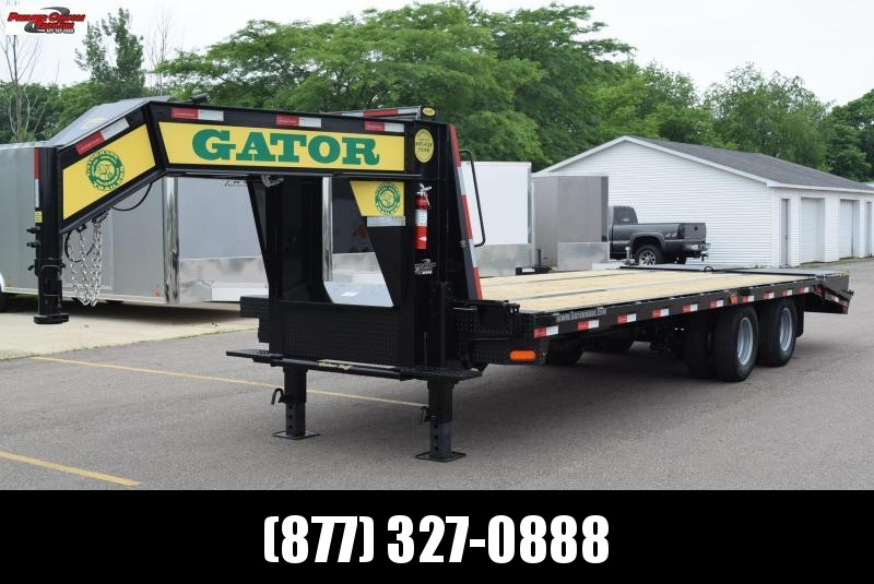 2018 GATORMADE 20'+5' ELITE GOOSENECK HEAVY EQUIPMENT TRAILER
