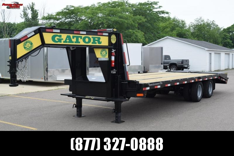 2019 GATORMADE 20'+5' ELITE GOOSENECK HEAVY EQUIPMENT TRAILER