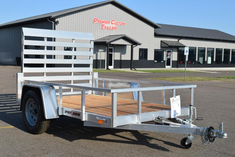 2019 SPORT HAVEN 5x8 OPEN UTILITY TRAILER