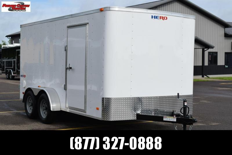 2019 BRAVO HERO 7x14 ENCLOSED CARGO TRAILER