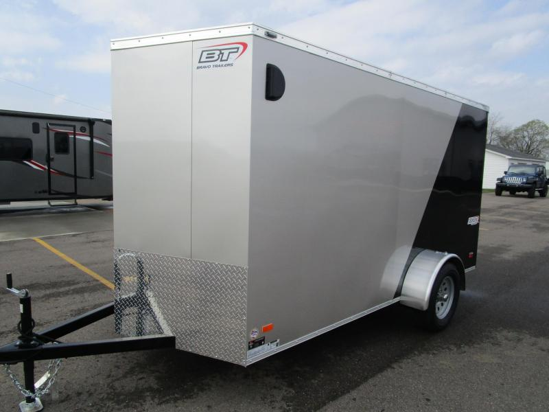 2018 BRAVO 6x12 SCOUT ENCLOSED CARGO TRAILER
