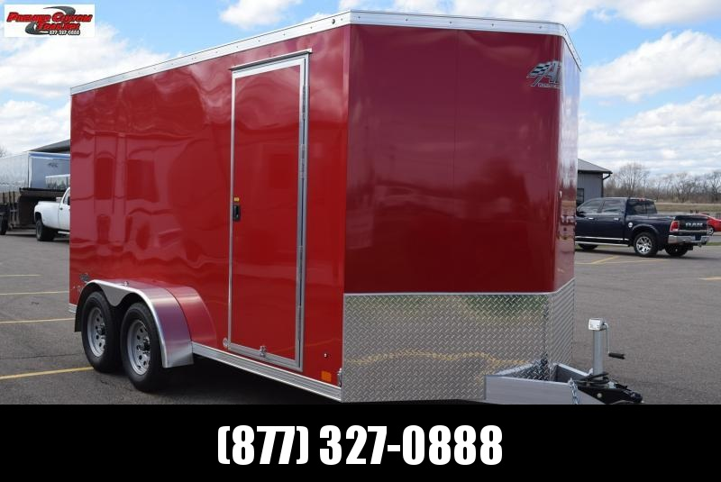2019 ATC ALL ALUMINUM RAVEN 7x14 CARGO TRAILER