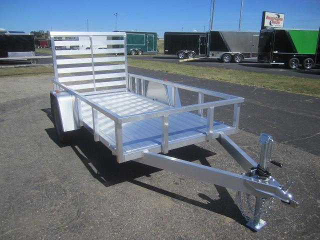 2018 ATC ALL ALUMINUM 5x8 UTILITY TRAILER w/RAMP GATE