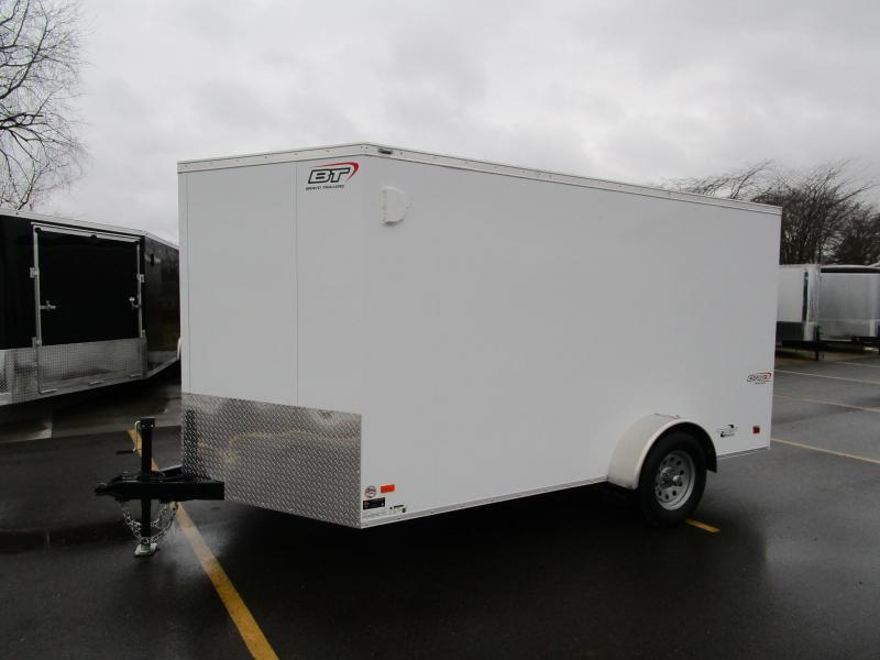 2018 BRAVO SCOUT 7x12 ENCLOSED CARGO TRAILER