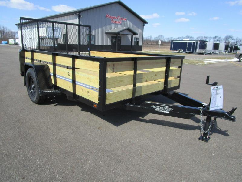 "2018 NATION 6'4""x10 OPEN UTILITY TRAILER"
