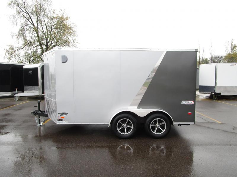 2018 BRAVO SCOUT 7x12 ENCLOSED MOTORCYCLE TRAILER
