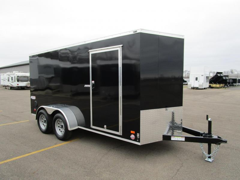2018 BRAVO 6x14 TANDEM AXLE SCOUT ENCLOSED CARGO TRAILER