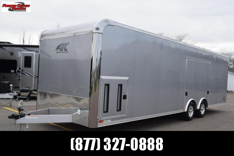 2019 ATC 28 ft RAVEN PLUS SERIES ALL ALUMINUM CAR HAULER
