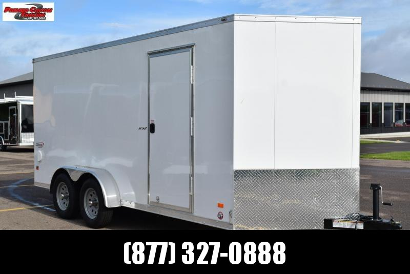 2020 BRAVO 7x16 SCOUT ENCLOSED CARGO TRAILER