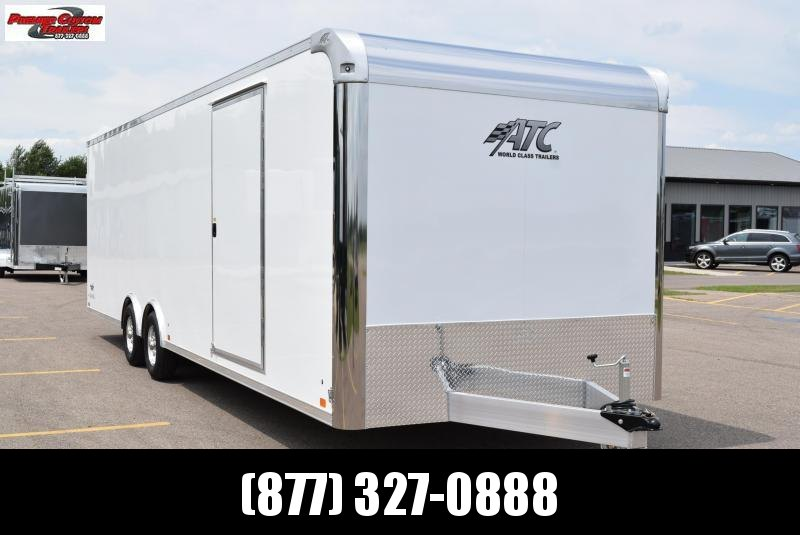 2020 ATC ALL ALUMINUM 8.5x28 RAVEN CAR HAULER