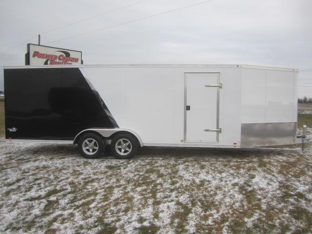 2017 RAVEN 28' ENCLOSED SNOWMOBILE TRAILER w/SNOW PACKAGE