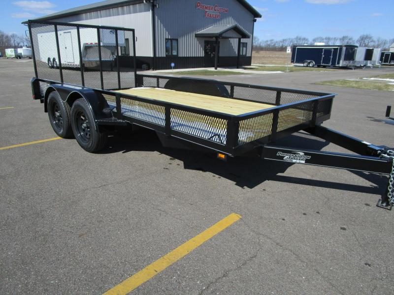 "2018 NATION 82""x14' OPEN LANDSCAPE TRAILER"