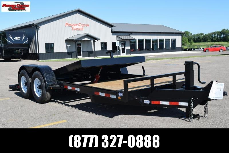 2019 NATION 19' TILT BED EQUIPMENT TRAILER