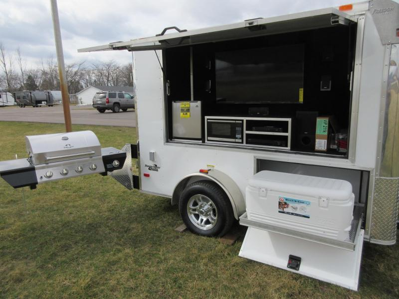 2016 6x10 Freedom TailGating Trailer