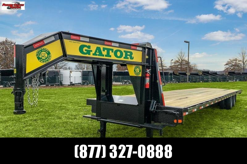 GATORMADE 40FT HOTSHOT 24.9K GOOSENECK EQUIPMENT TRAILER