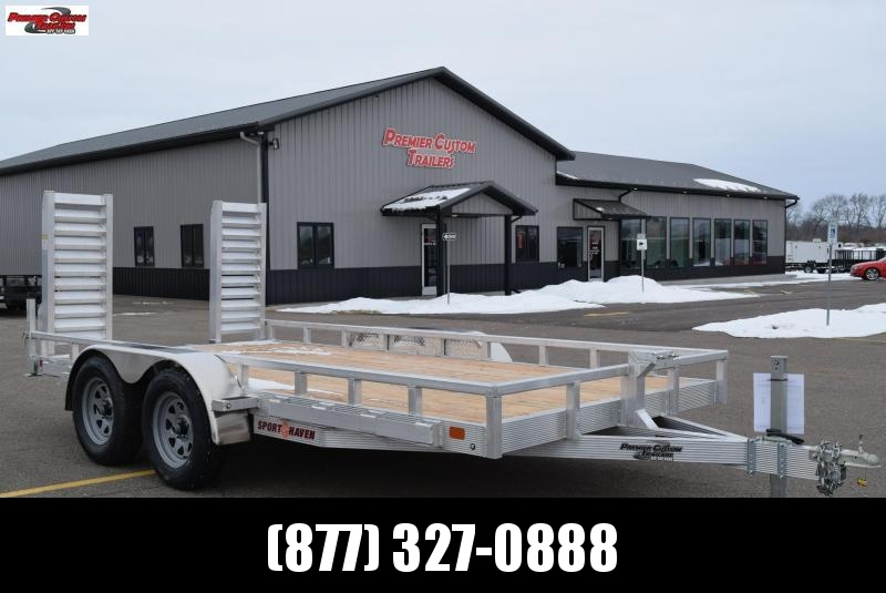 2019 SPORT HAVEN 7x14 HEAVY DUTY UTILITY TRAILER
