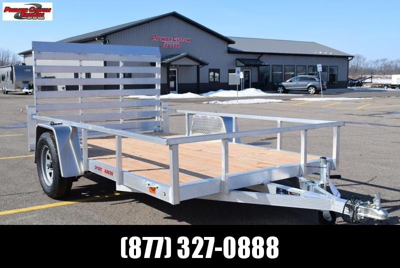2019 SPORT HAVEN 6x10 OPEN UTILITY TRAILER
