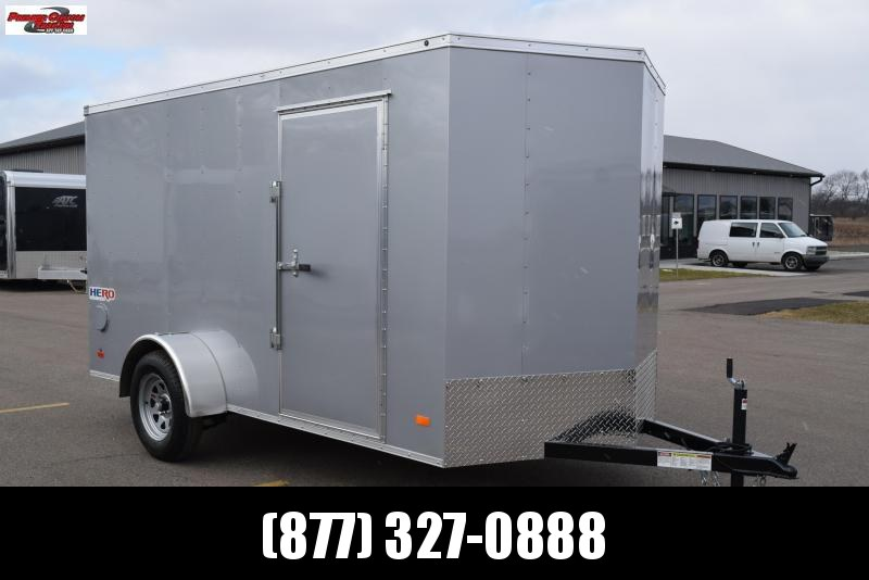 2018 BRAVO HERO 6x12 ENCLOSED CARGO TRAILER
