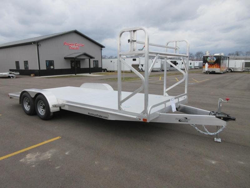 Aluminum Car Trailers : Open car haulers custom enclosed cargo trailers and