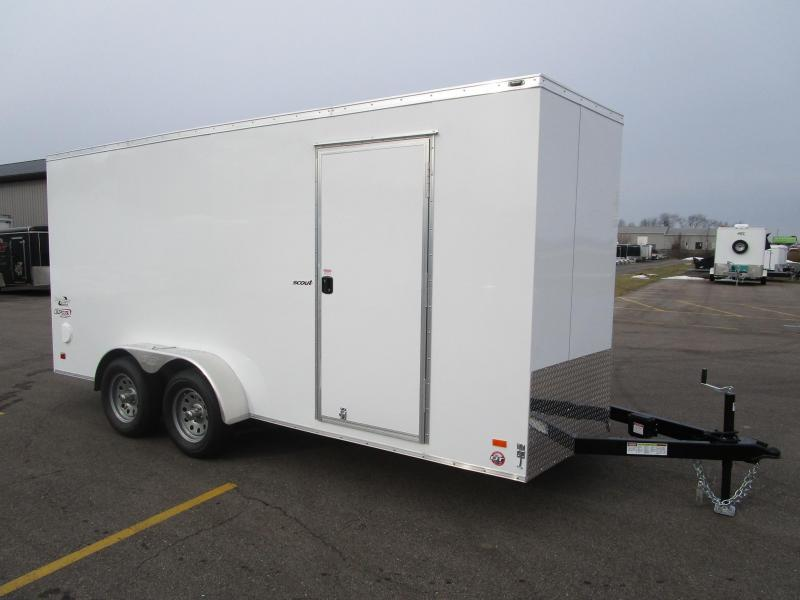 2018 BRAVE SCOUT 7x16 ENCLOSED CARGO TRAILER