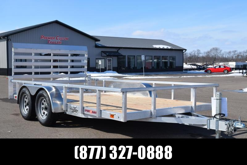 2019 SPORT HAVEN 7x14 OPEN UTILITY TRAILER