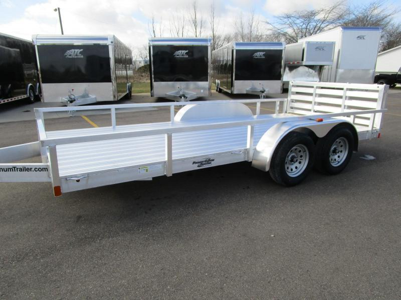 2018 ATC 7x16 ALL ALUMINUM UTILITY TRAILER
