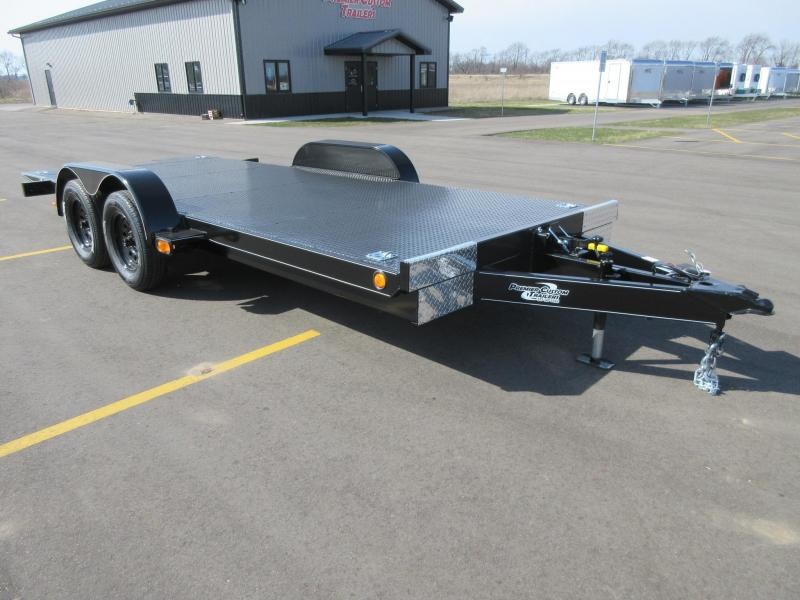 2019 NATION TILT BED OPEN CAR HAULER w/HYDRAULIC DAMPENING