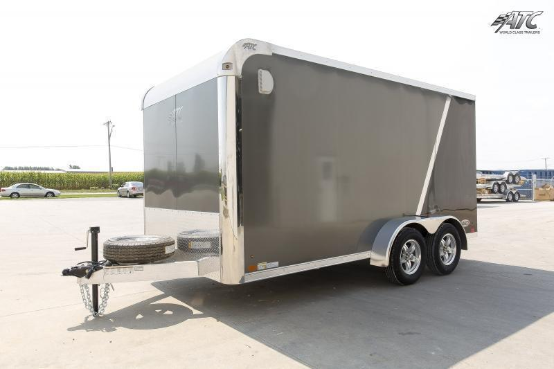 2016 ATC RAVEN MOTORCYCLE TRAILER w/ MC PLUS PACKAGE