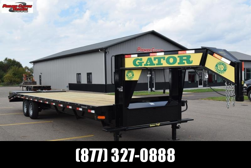 2019 GATORMADE 25'+5' WORKHORSE GOOSENECK HEAVY EQUIPMENT TRAILER