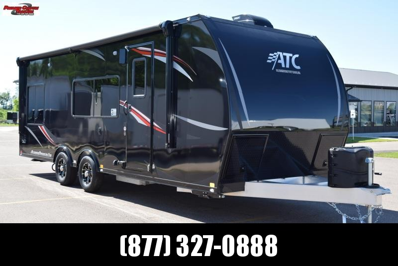 2018 ATC ALL ALUMINUM 8.5x24 TOY HAULER