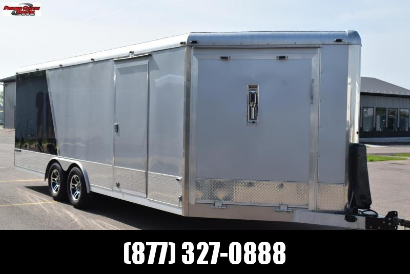 USED 2013 NEO COMBO CAR/SNOWMOBILE TRAILER