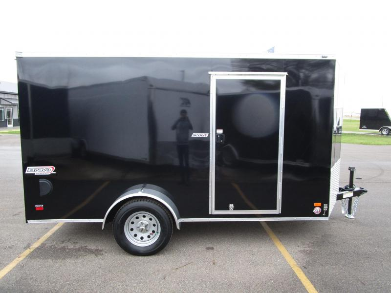 2018 BRAVO 7x12 SCOUT ENCLOSED CARGO TRAILER
