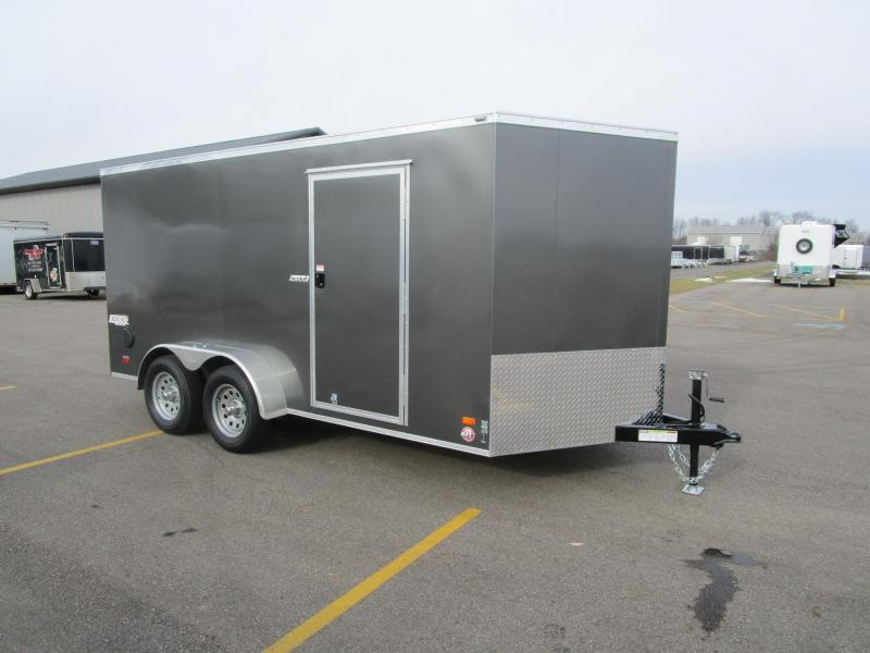 2018 BRAVO SCOUT 7x14 ENCLOSED CARGO TRAILER