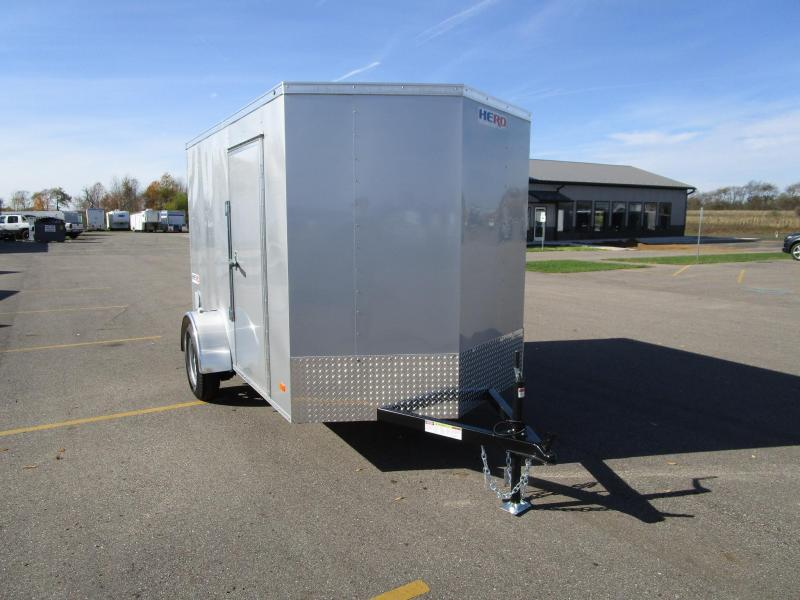 2018 BRAVO HERO 6x10 ENCLOSED CARGO TRAILER