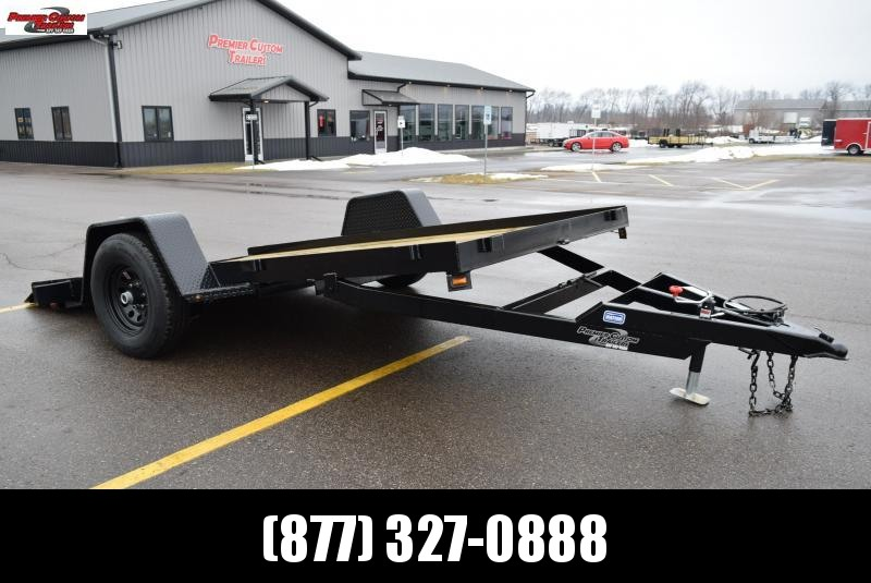2019 NATION 12' TILT BED EQUIPMENT TRAILER