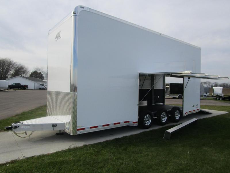 Atc trailers stacker car haulers - 2017 Atc 26 Stacker All Aluminum Race Hauler Custom