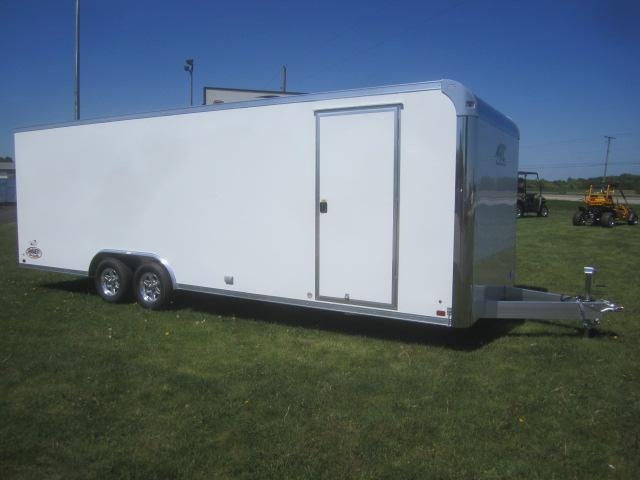 2018 ATC 8.5x24 RAVEN PLUS SERIES ALL ALUMINUM CAR HAULER