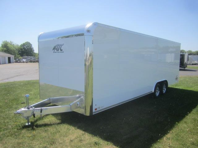 2017 ATC 8.5x24 RAVEN PLUS SERIES ALL ALUMINUM CAR HAULER