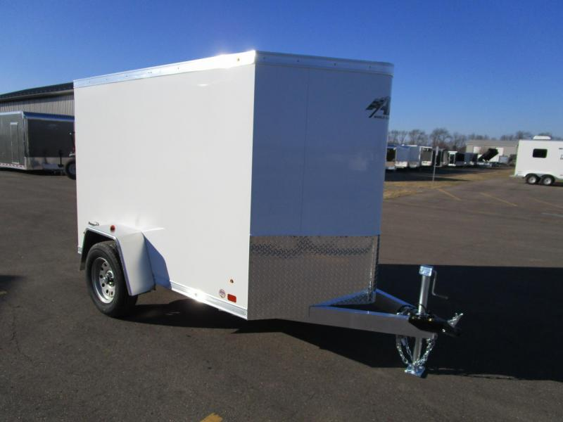 2018 ATC ALL ALUMINUM 5x8 RAVEN CARGO TRAILER
