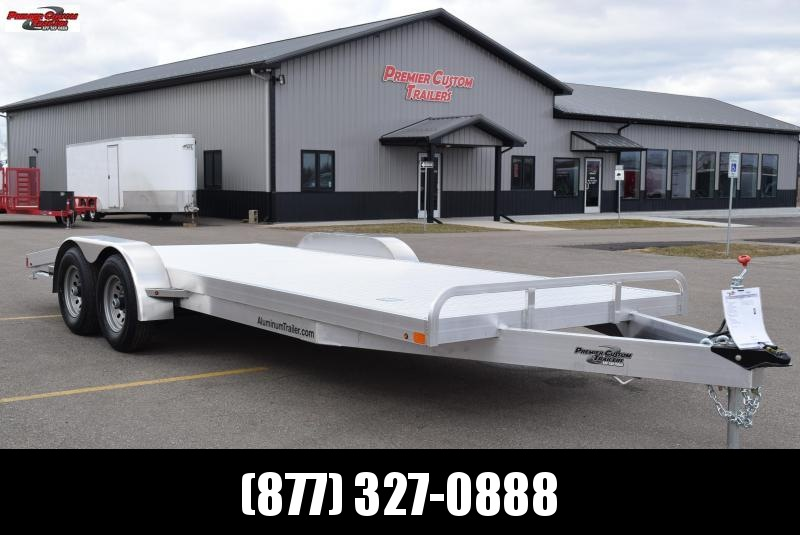 2018 ATC 20' ARROW CH ALUMINUM OPEN CAR HAULER
