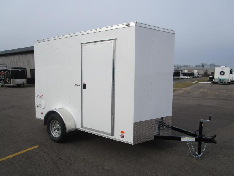 2018 BRAVO 6x10 SCOUT ENCLOSED CARGO TRAILER